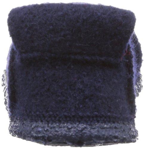 Nanga Berg - Caña baja de lana infantil Azul - Blau (dunkelblau 36)