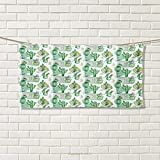 Chaneyhouse Cactus,Hand Towel,Hand Drawn Style Artwork Different Cactuses Floristics Mexican Summer Pastel Tones,Quick-Dry Towels,Multicolor Size: W 20'' x L 20''