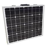 ECO-WORTHY 12 Volt 80 Watt Portable Folding Monocrystalline Solar Panel Kit with 15 Amp Solar Controller