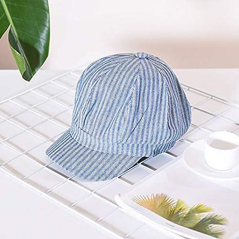 LOPILY Sombrero de Sol La Moda Verano Mujer Moda Algodón A Rayas ...