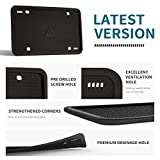 Aujen Silicone License Plate Frames, 1 Pack Car