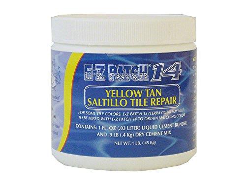 (E-Z Patch Saltillo Tile Repair - Yellow-Tan)