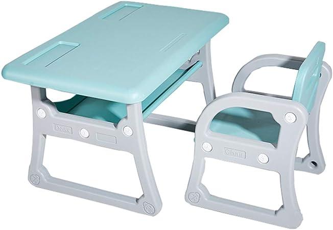 Juego de mesa y silla de aprendizaje para niños, Juego de mesa y silla de escritura