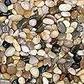 2 Pounds Decorative Stones, Small Rocks, 32 oz Bag, Indoor or Outdoor Decorative Stones for Craft Projects, Vase Fillers, Succulents, Cactus Pots, Terrarium Plants