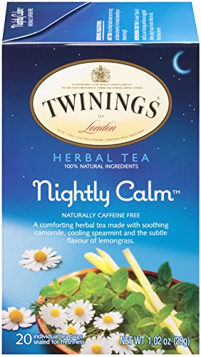 (Twinings of London Nightly Calm Herbal Tea Bags, 20 Count (Pack of)