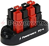 Powerwerx PD-4 4 Position Power Distribution Block for 15/30/45A Powerpole Connectors