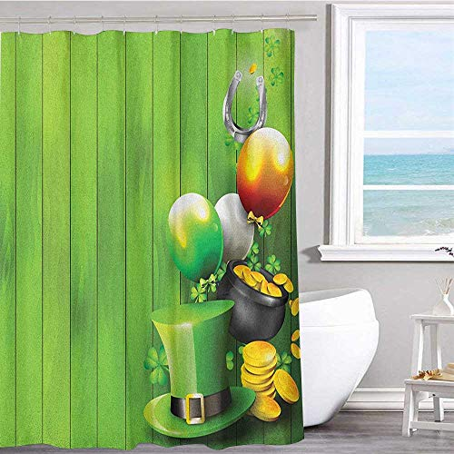 (MKOK Extra Long Shower Curtain 54