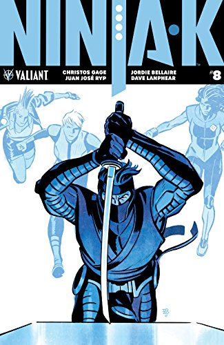 Amazon.com: Ninja-K #8 eBook: Christos Gage, Juan Ryp, Tonci ...
