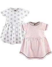 فستان يوغا سبراوت القطني للفتيات الصغيرات، قطعتين
