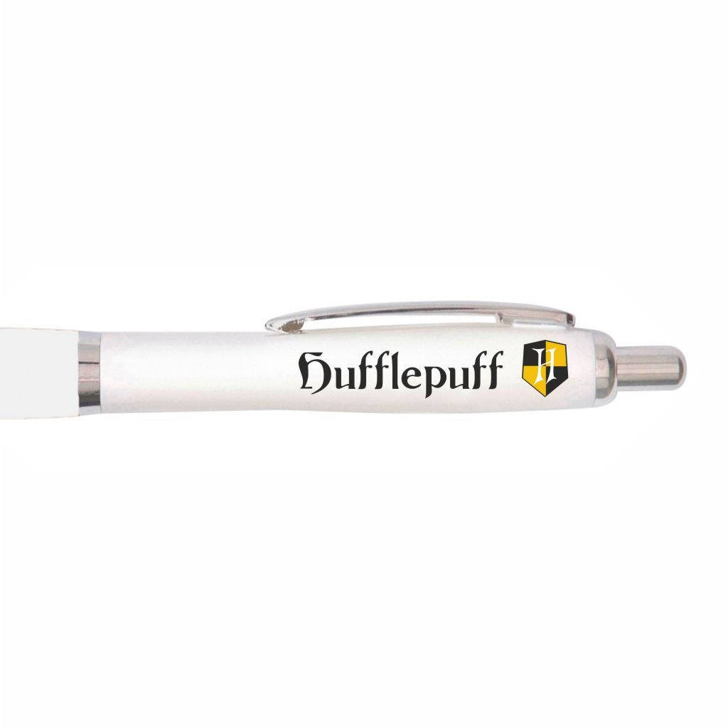 Uveeka - Harry Potter Inspired - Hogwarts Hufflepuff House Pen - Themed Gifts for Fans - Gryffindor Ravenclaw Hufflepuff Slytherin (Non-Personalised)