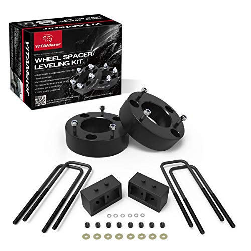 YITAMOTOR Leveling Lift Kit for F150, 3' Front and 2' Rear Forged Strut Spacers Compatible for 2004-2018 Ford F-150 2WD 4WD