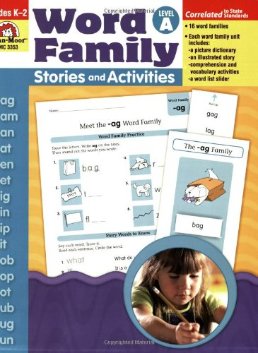 Word Family Stories & Activities, Level A -