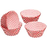 KitchenCraft Let's Make Strawberry Patterned Paper Cake Cases, Pack of Sixty