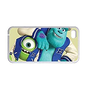 Generic Protection Phone Cases For Girl Printing Monsters University For Apple Iphone 4 4S Choose Design 4