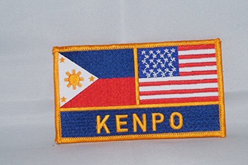 Kenpo Philippines and USA Martial Arts Patch