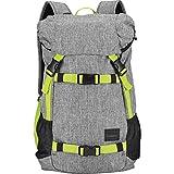 Nixon Unisex The Landlock SE Backpack Heather Gray/Lime Backpack