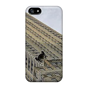 Tpu Case For Iphone 5/5s With Magnificent Chrysler Building In Nyc