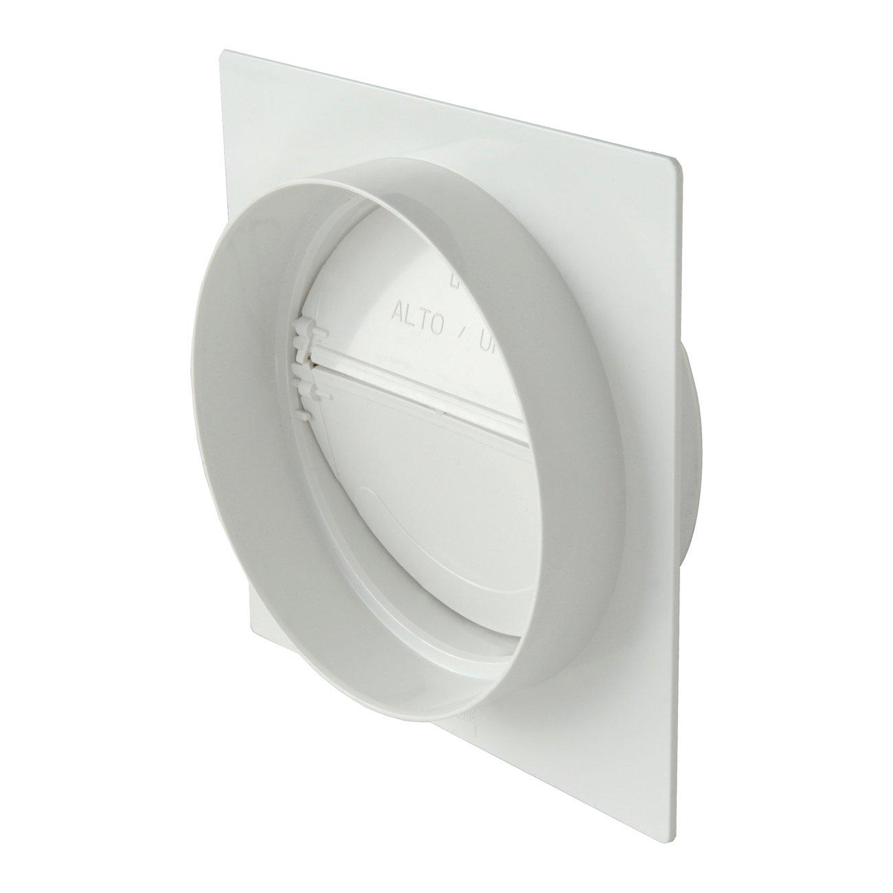La ventilació n pmv125b placa para detecció n a pared tubo redondo con vá lvula de no retorno Aire, Diá metro 125 mm) Diámetro 125mm) La Ventilazione