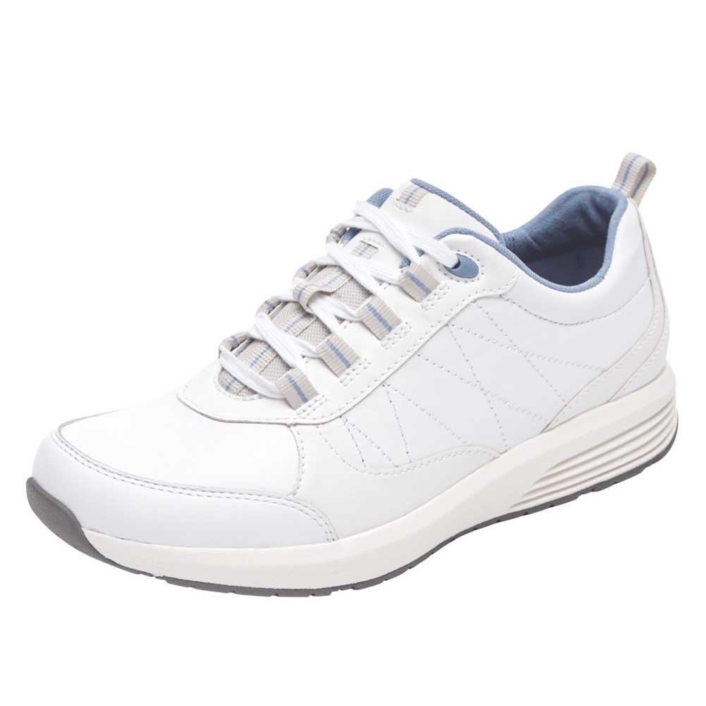 Rockport Women's Trustride W Sneaker B073ZT4ZFW 7.5 B(M) US White