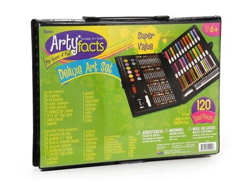 Darice 120-Piece Deluxe Art Set