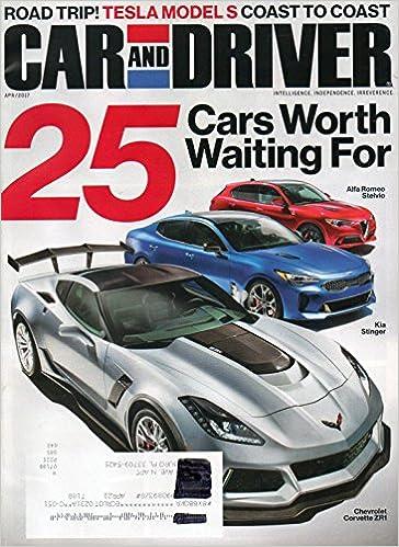 Car and Driver Magazine 2017 LONG TERM TEST 2015: TESLA MODEL S P850