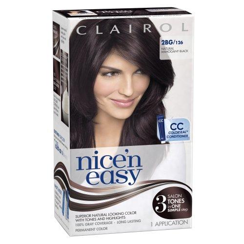 Clairol Nice 'N Easy Цвет волос 126 натурального красного дерева Черный 1 комплект