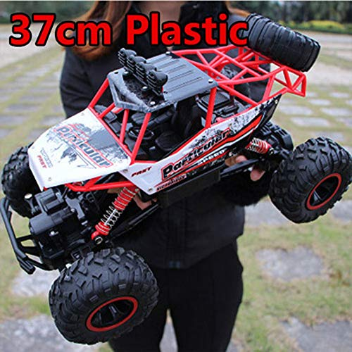 RC Cars - 4WD RC Cars Updated Version 2.4G Radio Control RC Cars Toys Buggy 2017 High Speed Trucks Off-Road Trucks Toys for Children - by Tini - 1 PCs