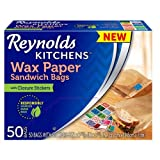#6: Reynolds Kitchens Wax Paper Sandwich Bags (50 count)