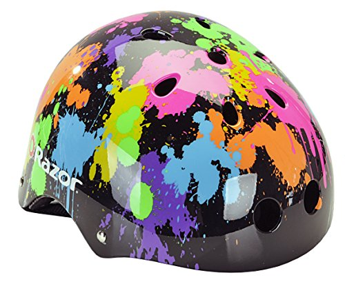 Razor Youth Helmet - Razor V-11 Child Muli-Sport Helmet, Splatter