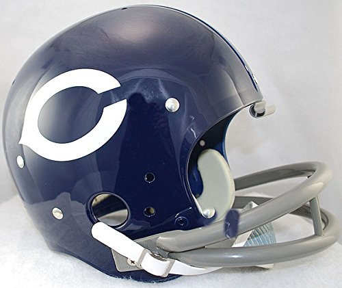 Bears 1962-1973 Throwback Replica TK Suspension Full Size Football Helmet ()