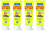 Boudreauxs Butt Paste Diaper Rash Ointment, UFizgV, Original - Contains 16% Zinc Oxide - Pediatrician Recommended - Paraben and Preservative-Free - 4Pack (4 Ounce)