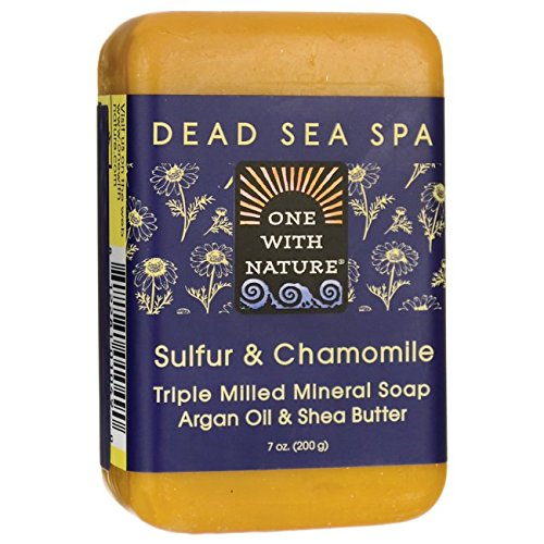 One With Nature Dead Sea Spa Sulfur & Chamomile Mineral S...