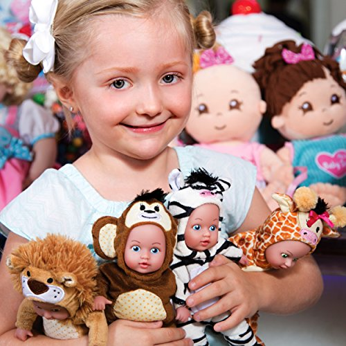 Adora SafariTime Pals 8 inch Plush Doll - Zebra