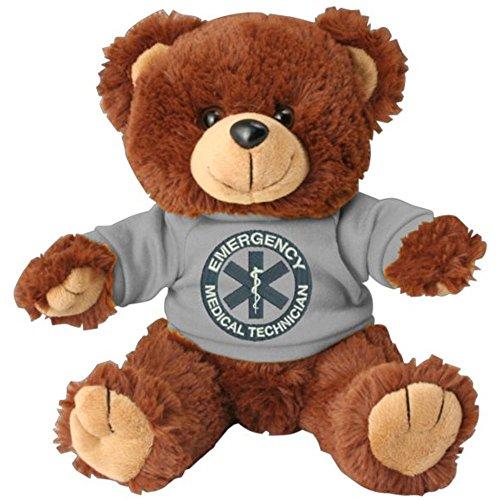 Honor Country Medical Technician EMT Logo Plush Toy Teddy Bear ()