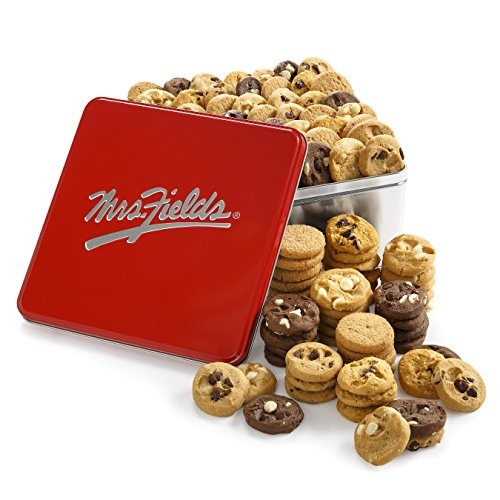 Mrs. Fields Classic Nibbler Tin, (Pack of 102)