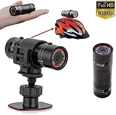 RONSHIN Accesorios para cámara F9 Mini cámara de Bicicleta HD ...