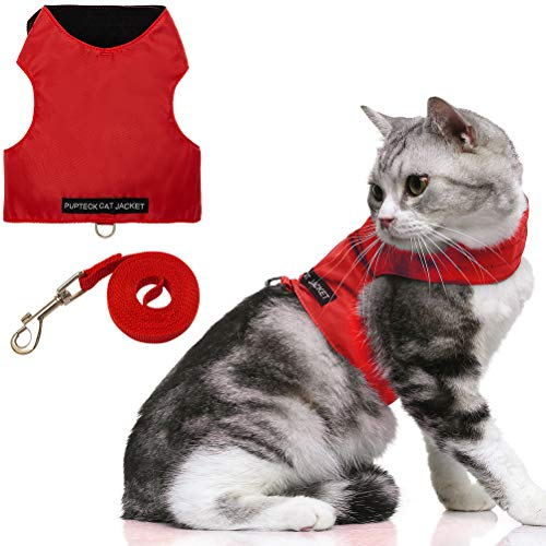 Escape Proof Cat Harness with Leash Set