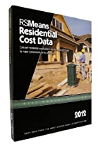 RSMeans Residential Cost Data 2012 (Means Residential Cost Data)
