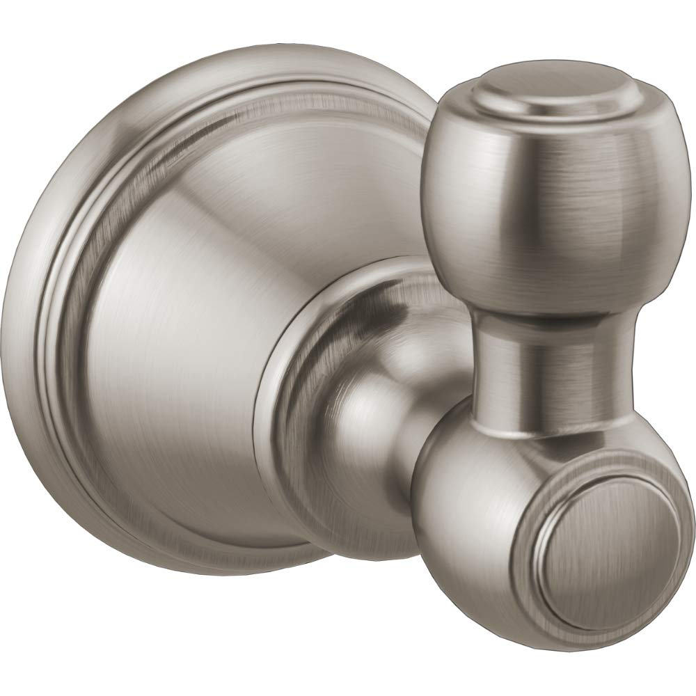 Delta Faucet 73235-SS Woodhurst Robe Hook Brilliance Stainless Steel