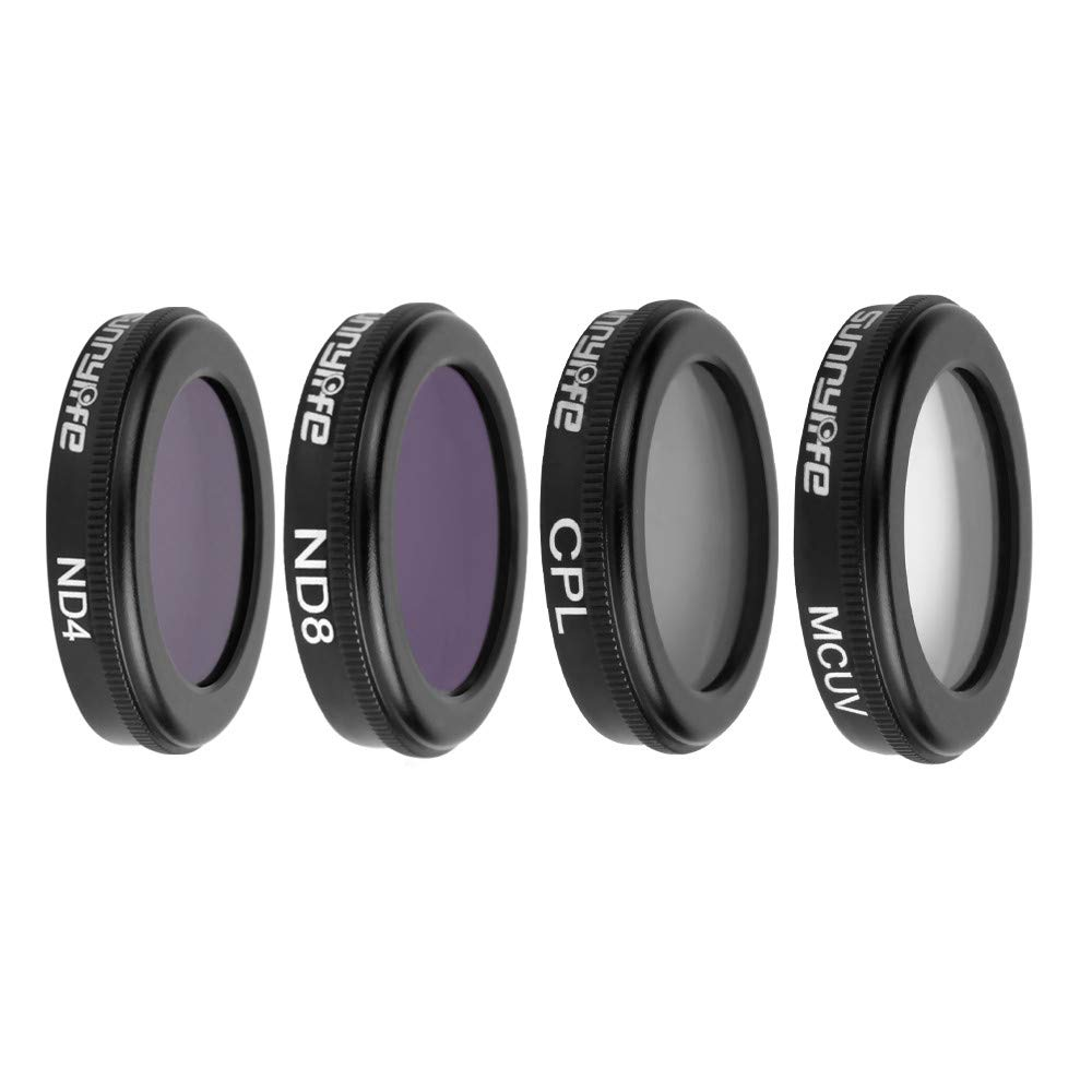 Cuifress 4 in 1 ND4 ND8 UV CPL Waterproof Camera Lens Filters kit for DJI Mavic 2 Zoom