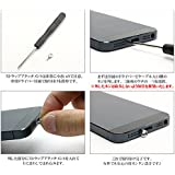 iPhone5/5S iPhone6s iPhone6sPlus ストラップ 取りつけ可能 ネジで固定する iPhone6s iPhone6sPlus ストラップホール リングネジ(専用ドライバー付属)