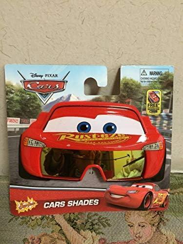 ディズニーランド ディズニーシー CARS PIXER カーズ ピクサー 赤 レッド フェイス型サングラス