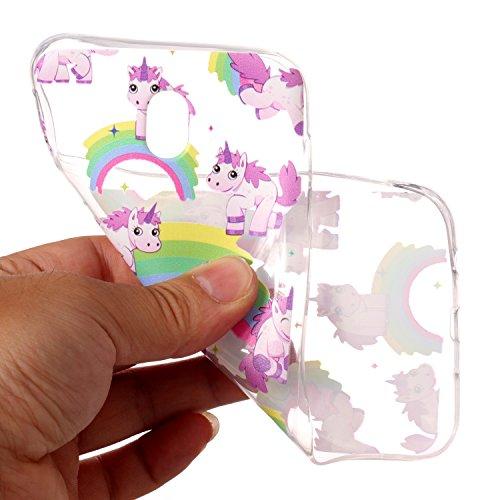 Funda Galaxy J5 2017, CaseLover Transparente Suave Silicona TPU Carcasa para Samsung Galaxy J5 2017 SM-J530F Ultra Delgado Flexible Gel Protectora Cubierta Resistente a los Arañazos Tapa Ligero Caja A Caballo