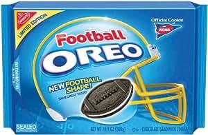 Oreo Football Shaped Oreo Cookies, 10.9-Ounce (Pack of 6)
