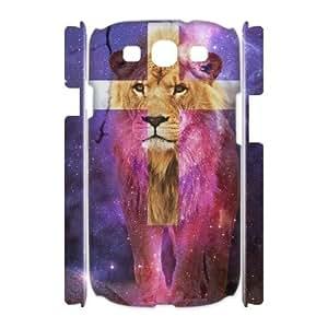 Lion Unique Design 3D Cover Case for Samsung Galaxy S3 I9300,custom cover case ygtg541760
