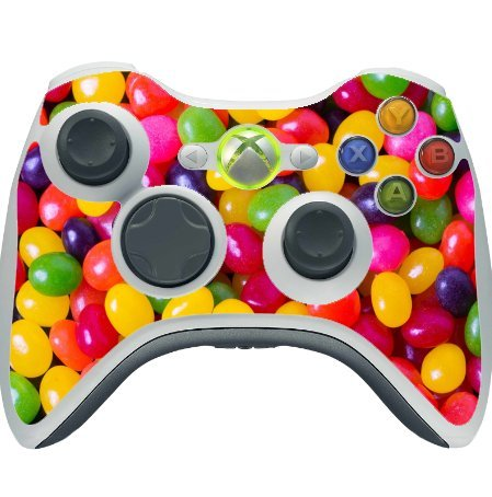 colorful-candy-xbox-360-wireless-controller-vinyl-decal-sticker-skin-by-compass-litho