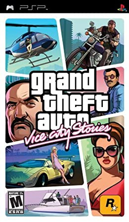 Grand Theft Auto Vice City Stories - Sony PSP (Certified Refurbished)
