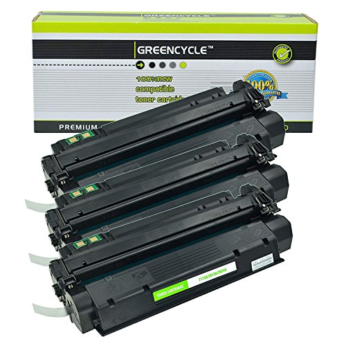 GREENCYCLE Replacement 13A Q2613A Toner Cartridge for HP Laserjet 1300 Laserjet 1300n Printer Pack 3