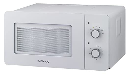 Daewoo KOR-5A17W - Microondas (Encimera, Solo microondas, 15 L, 500 W, Giratorio, Blanco)