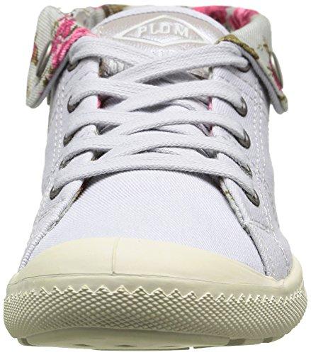 Palladium Letty Twl - Zapatillas de deporte para niñas Gris - Grey (549 Lunar/Flower)